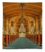 St Edward Interior Fleece Blanket