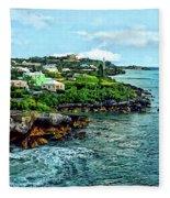 St. George Bermuda Shoreline Fleece Blanket