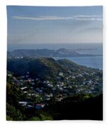 St. George's Grenada Fleece Blanket
