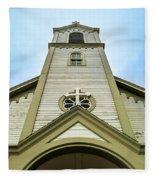 St. Ignatius Of Loyola Church And Cemetary Fleece Blanket