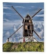 St. Janshuis Windmill Fleece Blanket