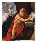 St Jerome Fleece Blanket