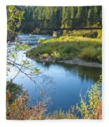 St. Joe River Fleece Blanket