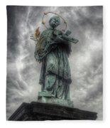 St John Nepomuk Fleece Blanket