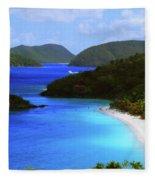 St. John's Paradise Fleece Blanket