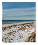 St. Joseph Peninsula Dunes Fleece Blanket