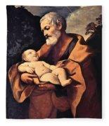 St Joseph Fleece Blanket