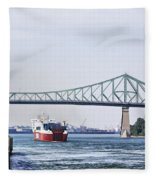 St Lawrence And Laronde Fleece Blanket