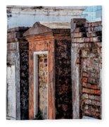 St. Louis 1 Tombs--nola Fleece Blanket