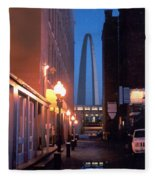 St. Louis Arch Fleece Blanket