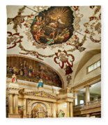 St. Louis Cathedral 2 Fleece Blanket