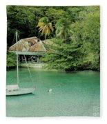 St. Lucia Mooring Fleece Blanket