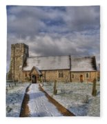 St Margarets Church Ridge Hertfordshire Fleece Blanket