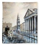 St Martins London Fleece Blanket