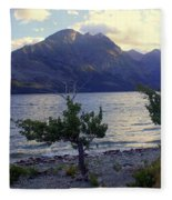St. Mary Lake Fleece Blanket