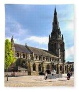St Mary's Church At Lichfield Fleece Blanket
