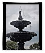 St. Mary's Water Fountain Fleece Blanket