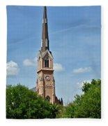 St. Matthew's German Evangelical Lutheran Church In Charleston Fleece Blanket