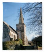 St Michael And All Angels Church -- Little Bredy Fleece Blanket