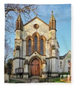 St Michael And St George R.c Church - Lyme Regis Fleece Blanket