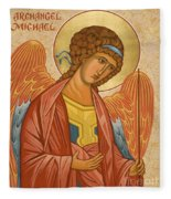 St. Michael Archangel - Jcami Fleece Blanket