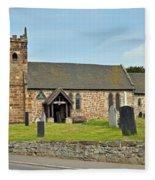 St Michael's Church At Willington Fleece Blanket