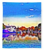 St. Michael's Marina Fleece Blanket