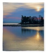 St. Michael's Sunrise Fleece Blanket