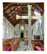 St Mylor Altar Cross Fleece Blanket