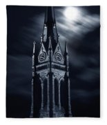 St Nicholas Church Wilkes Barre Pennsylvania Fleece Blanket