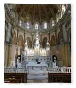 St. Nicholas Of Tolentine Church - IIi Fleece Blanket