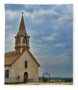 St Olafs Church Fleece Blanket