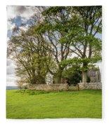St Oswald's Church Heavenfield Fleece Blanket