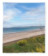 St Ouen's Bay Jersey Fleece Blanket