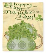 St. Patrick-jp3192-a Fleece Blanket