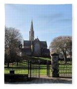 St. Patrick's Cathedral, Trim Fleece Blanket