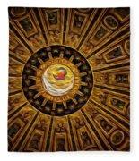 St. Peter's Duomo 2 Fleece Blanket