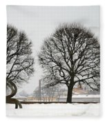 St. Petersburg - Winter Fleece Blanket