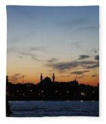 St. Petersburg Fleece Blanket