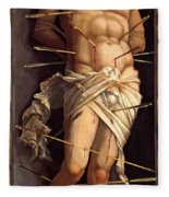 St Sebastian 1506 Fleece Blanket