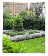 St. Stephen's Garden Fleece Blanket