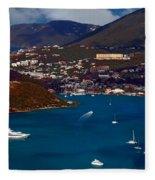 St. Thomas Bay Fleece Blanket