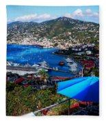 St. Thomas - Caribbean Fleece Blanket