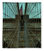 Stable - Brooklyn Bridge Fleece Blanket