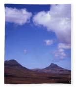Stac Pollaidh Inverpolly National Nature Reserve Wester Ross Scotland Fleece Blanket