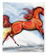 Staceys Arabian Horse Fleece Blanket