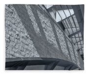 Stadium Abstract Fleece Blanket