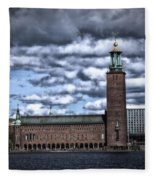 Stadshuset Color II Fleece Blanket
