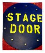 Stage Door Fleece Blanket