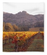Stags Leap Wine Cellars Napa Fleece Blanket